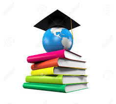 graduation books graduation cap globe and books stock photo picture and royalty