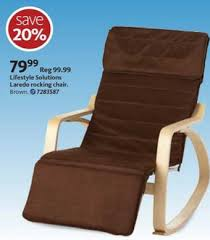 black friday massage chair black friday deal lifestyle solutions laredo rocking chair brown