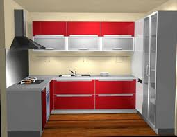 great red and white kitchen cabinets magnificent contemporary red