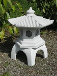 Patio Lawn And Garden Amazon Com Cement Pagoda Lantern 16