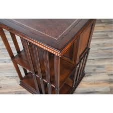 coffee table leather top leather top revolving bookcase niagara furniture free shipping