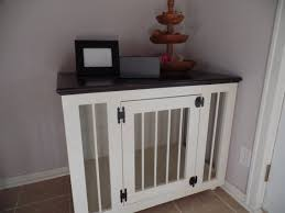 How To Make End Table Dog Crate by Best 25 Dog Crate End Table Ideas On Pinterest Diy Dog Crate