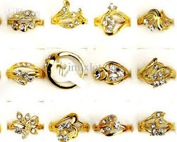 jewelry rings online images Fashion jewelry rings jewellery mix gold plated australia jpg