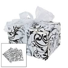 black wrapping paper black white damask wrapping paper