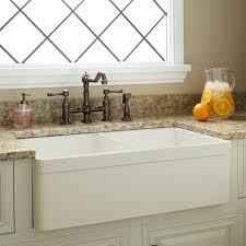 30 baldwin fireclay farmhouse sink decorative lip white kitchen 33