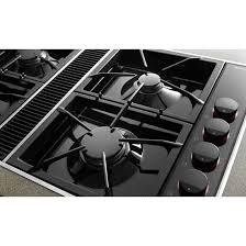 Best 30 Inch Gas Cooktop With Downdraft Kitchen Top Gas Cooktop Cvgx2423b Jenn Air Intended For Cooktops