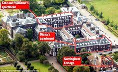 who lives in kensington palace where will the young cambridge family live royal couple won t have