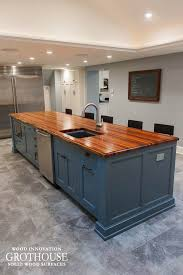 kitchen island top custom tigerwood kitchen island top in west chester pa