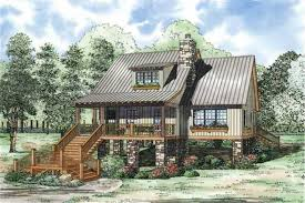 Vacation Cottage House Plans by Vacation House Plans Home Design Ndg 1225