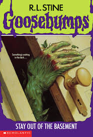 r l stine goosebumps 2 stay out of the basement goosebumps