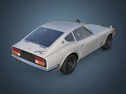 nissan fairlady 240z interior nissan fairlady 240z 3d model in sport cars 3dexport
