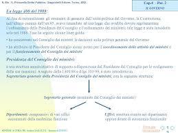 ultimo consiglio dei ministri l organizzazione costituzionale in italia ppt scaricare