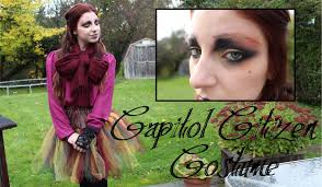 costume tutorial capitol citizen from the hunger games youtube