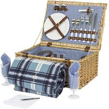 picnic basket set for 2 best choice products 2 person wicker picnic basket w