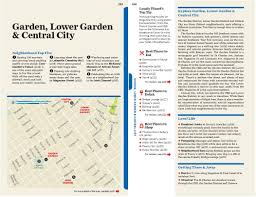 Garden District New Orleans Walking Tour Map by Lonely Planet New Orleans Travel Guide Adam Karlin Amy C