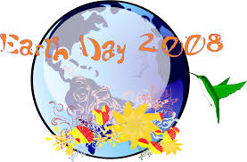 clipart earth day 2008