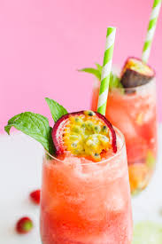 passionfruit u0026 strawberry mojitos recipe the perfect summer