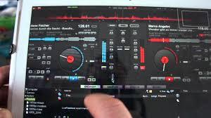 virtual dj auf samsung galaxy tab 2 10 1 youtube
