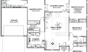 Two Master Bedroom House Plans 24 Surprisingly Single Story House Plans With 2 Master Suites