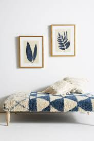 blue wall wall mirrors wall décor anthropologie