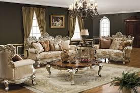 Diamond Furniture Living Room Sets Living Room Vintage Luxurious Brown Table Diamond Furniture