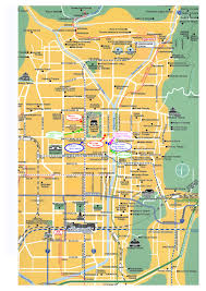 Map Japan Kyoto Attractions Map 07 Japan Pinterest Kyoto Japan And