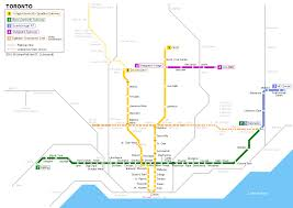 Shenzhen Metro Map by Toronto Metro Map Travel Map Vacations Travelsfinders Com