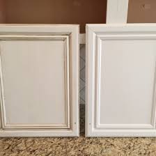 Painting Kitchen Cabinets Before  After Mr Painter Paints - Kitchen cabinet glaze