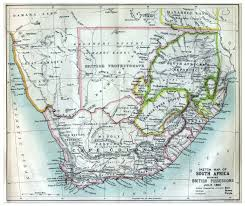 South Africa Maps by South Africa Map 1885 Philatelic Database