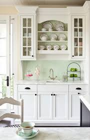 green kitchen cabinets white countertops 80 cool kitchen cabinet paint color ideas noted list