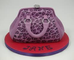 leopard print handbag birthday cake janehuntley