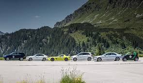 mercedes benz and smart on e mission in montafon mercedes benz