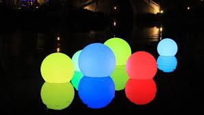 led light spheres ml outdoor furnishing