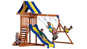 backyard discovery providence swing set with snack stand bj u0027s