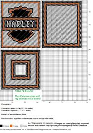 free printable halloween plastic canvas patterns harley davidson tissue box plastic canvas pinterest tissue