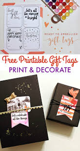 free printable holiday gift tags oh my creative