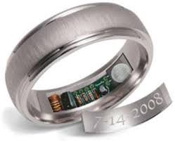 fingerprint wedding bands 20 nerdy wedding rings 10 seconds hilarious and anniversaries