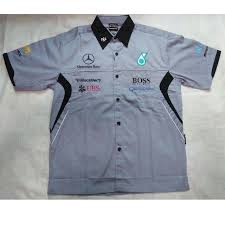 Baju Kemeja Billabong baju kemeja mercedes gp team f1 berkolar s fashion clothes on