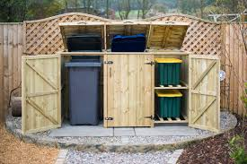 luxury waste bin storage sheds 62 with additional cool storage