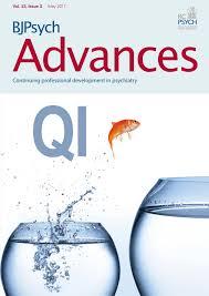 quality improvement for psychiatrists bjpsych advances
