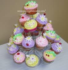 peggy does cake katrina u0027s garden baby shower cupcakes click