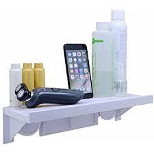 amazon com dekinmax shower shelf holder with suction cups