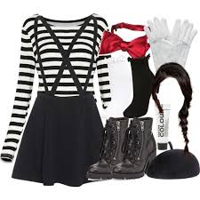 Black White Striped Halloween Costume 25 Mime Halloween Costume Ideas Mime Costume