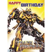 transformers birthday morrisons transformers birthday card product information