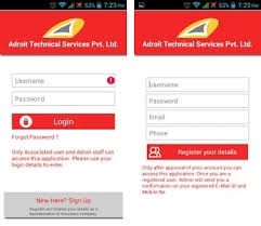 login services apk adroit technical services apk version 6 8