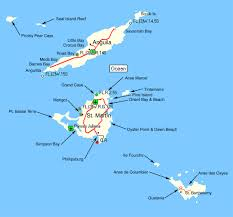 Saint Barts Map by Fidelity Luxury Catamaran Charters Bvi Yacht Charters