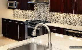 BROWN BEIGE GLASS METAL MIX BACKSPLASH TILE Backsplashcom - Mosaic backsplash tile