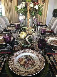 churchill thanksgiving dinnerware vignette design november 2016