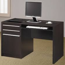 Desk With Tv Stand by Ontario Contemporary Single Pedestal Computer Desk With Charging