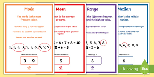 collection of solutions mean median mode range worksheets ks3 for